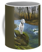 Bo At The Patapsco Coffee Mug