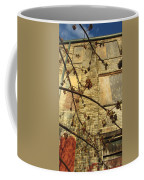 Boarded Windows And Branches Coffee Mug
