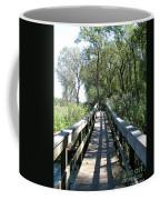 Boardwalk At Tifft Nature Preserve Buffalo New York Coffee Mug