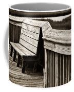Boardwalk Bench Coffee Mug