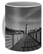 Boardwalk Lighthouse 1 Coffee Mug