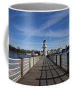 Boardwalk Lighthouse Coffee Mug