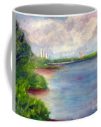 Boardwalk To Beach At John D Macarthur State Park Coffee Mug