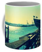 Boat At Alki Beach Coffee Mug