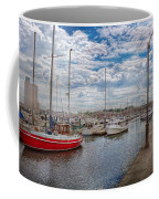 Boat - Baltimore Md - One Fine Day In Baltimore  Coffee Mug