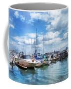 Boat - Boat Basin Fells Point Coffee Mug