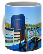 Boat Dock In Rhode Island Coffee Mug