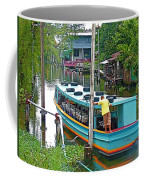 Boat For Transportation On Canals In Bangkok-thailand Coffee Mug