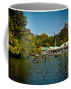 Boat House Central Park New York Coffee Mug by Amy Cicconi