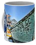 Boat - In A State Of Decay Coffee Mug by Paul Ward
