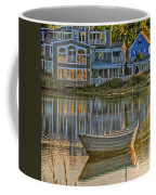Boat In Late Afternoon Coffee Mug