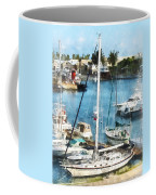 Boat - King's Wharf Bermuda Coffee Mug