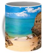 Boat On Beach Algarve Portugal Coffee Mug