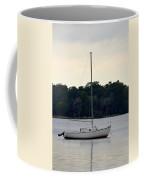 Boat On Calm Waters Coffee Mug