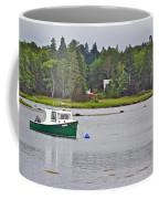 Boat On Cove In Glen Margaret-ns  Coffee Mug