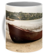 Boat On Shore 02 Coffee Mug