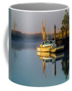 Boat On The Creek Coffee Mug