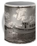 Boat On The Water Coffee Mug