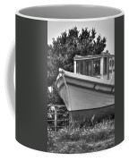 Boat Out Of The Water Coffee Mug