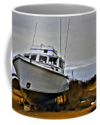 Boat Out Of Water Coffee Mug