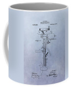 Boat Propeller Patent Drawing 1911 Coffee Mug