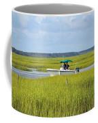 Boat Ride In The Marsh Coffee Mug