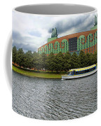 Boat Ride Past The Swan Resort Walt Disney World Coffee Mug