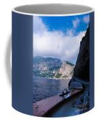 Boat Ride To Capri Coffee Mug