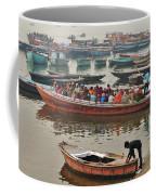 The Journey - Varanasi India Coffee Mug