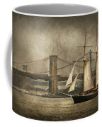 Boat - Sailing - Govenors Island Ny - Clipper City Coffee Mug
