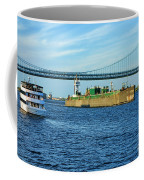 Boat Traffic Coffee Mug by Olivier Le Queinec