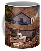 Boat - Tuckerton Seaport - Hotel Decrab  Coffee Mug by Mike Savad