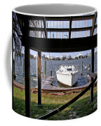 Boat View Under The Stairway Coffee Mug