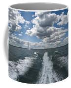 Boat Wake 01 Coffee Mug