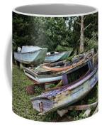 Boat Yard Coffee Mug by Heather Applegate