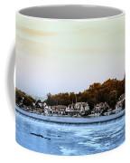 Boathouse Row And Farmount Dam Coffee Mug