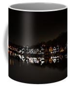 Boathouse Row At Night Coffee Mug