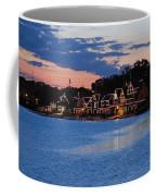 Boathouse Row Dusk Coffee Mug