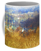 Boathouse Row Impasto Coffee Mug