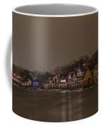 Boathouse Row In The Evening Coffee Mug