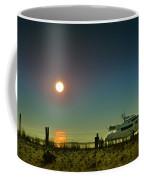 Boating At Sunrise Coffee Mug