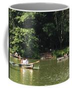 Boating In Central Park Coffee Mug