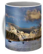 Boating In The Tetons Coffee Mug by Dan Sproul