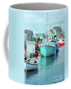 Boating In The Village Coffee Mug
