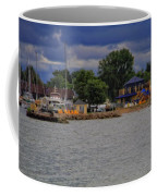 Boating On Lake Erie Coffee Mug