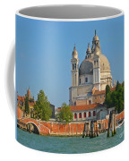Boating Past Basilica Di Santa Maria Della Salute  Coffee Mug
