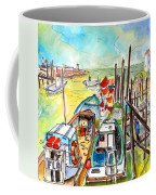 Boats And Boardwalks By Brittany 02 Coffee Mug