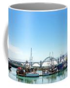 Boats And Bridge Coffee Mug
