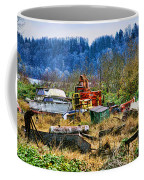 Boats And Heavy Equipment Coffee Mug