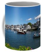 Boats At A Harbor, Nantucket Coffee Mug